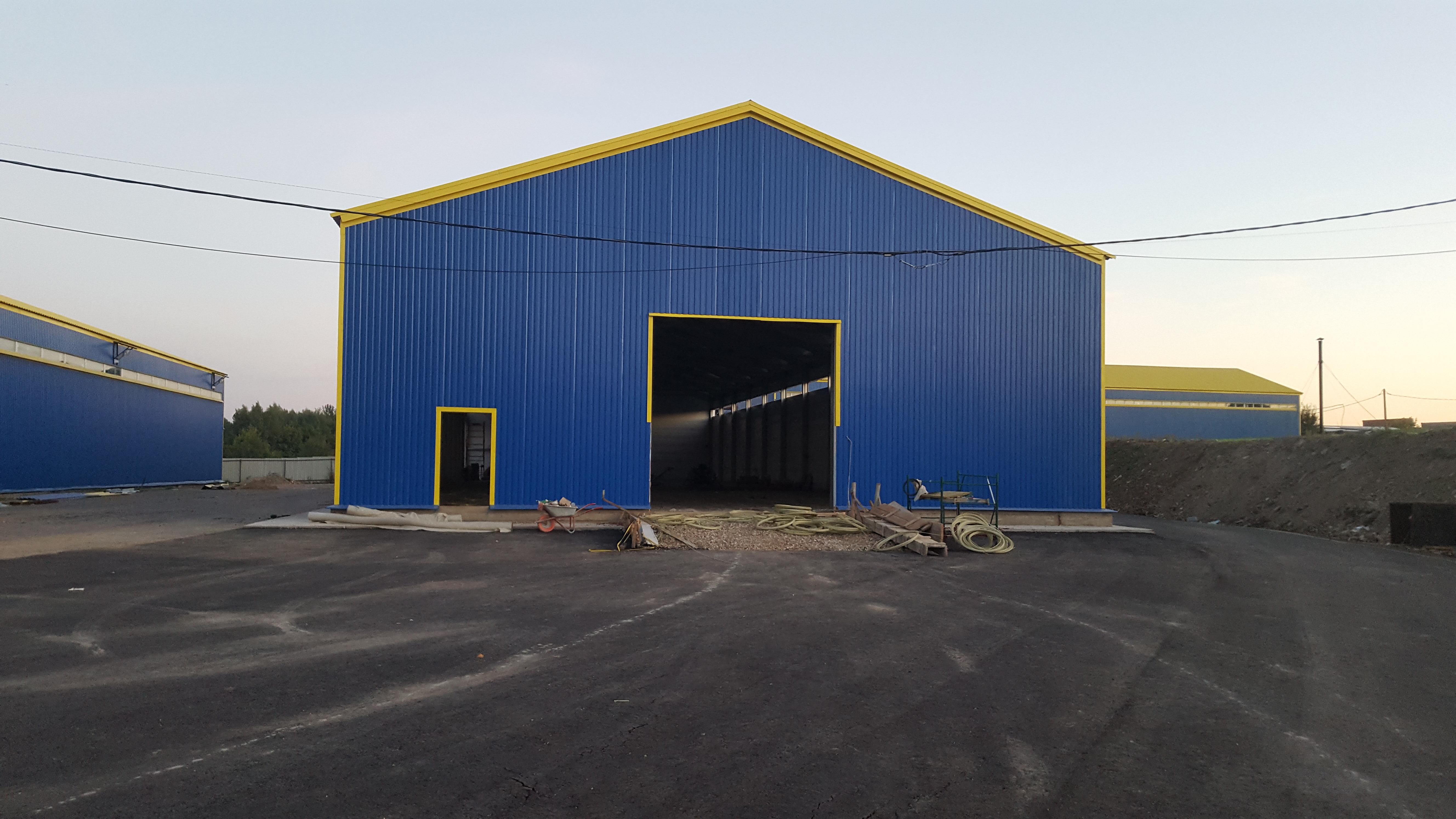 Строительство склада под ключ Сергиев Посад