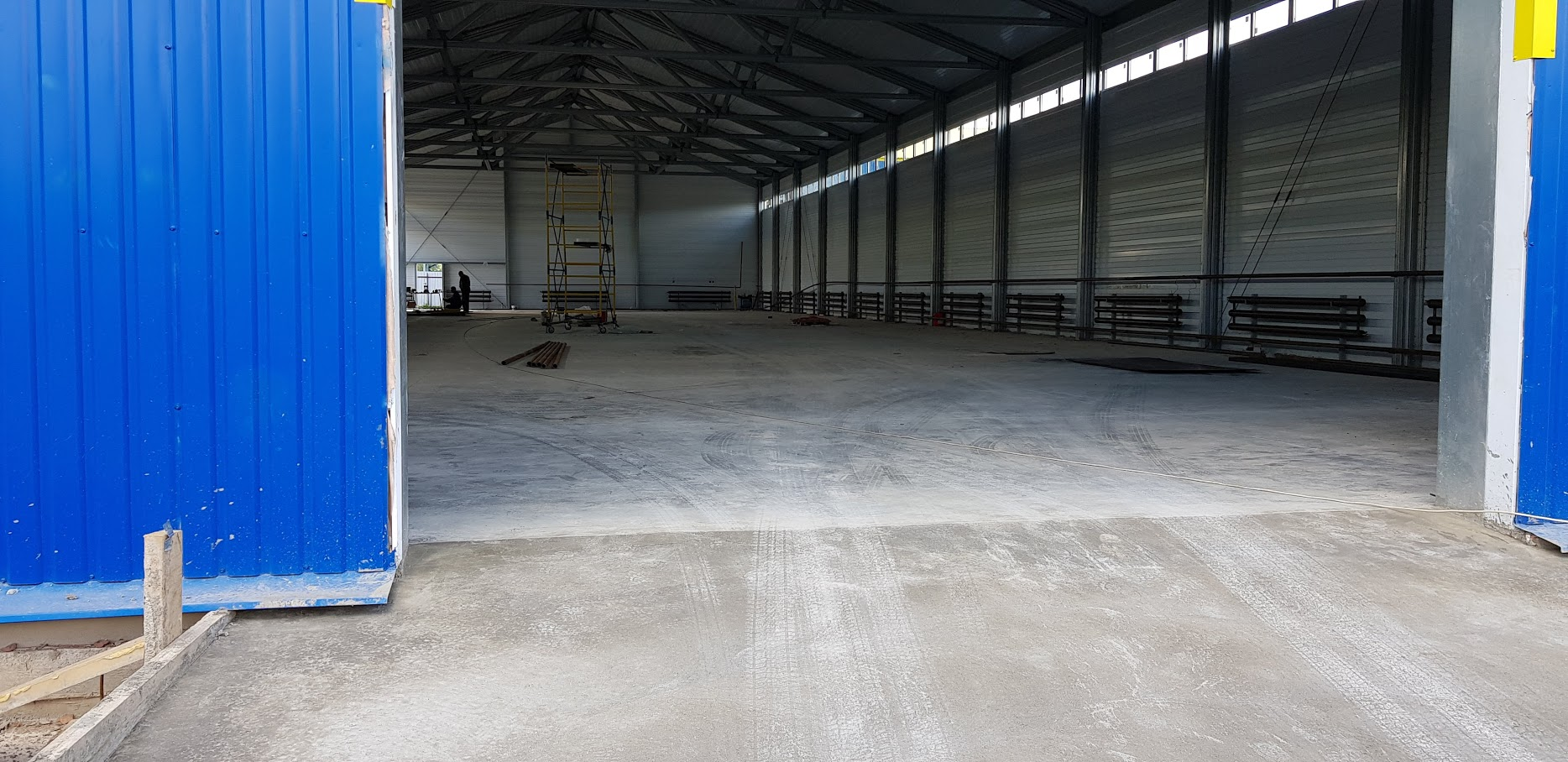 Бетонные полы с топпингом для склада в Сергиевом Посаде