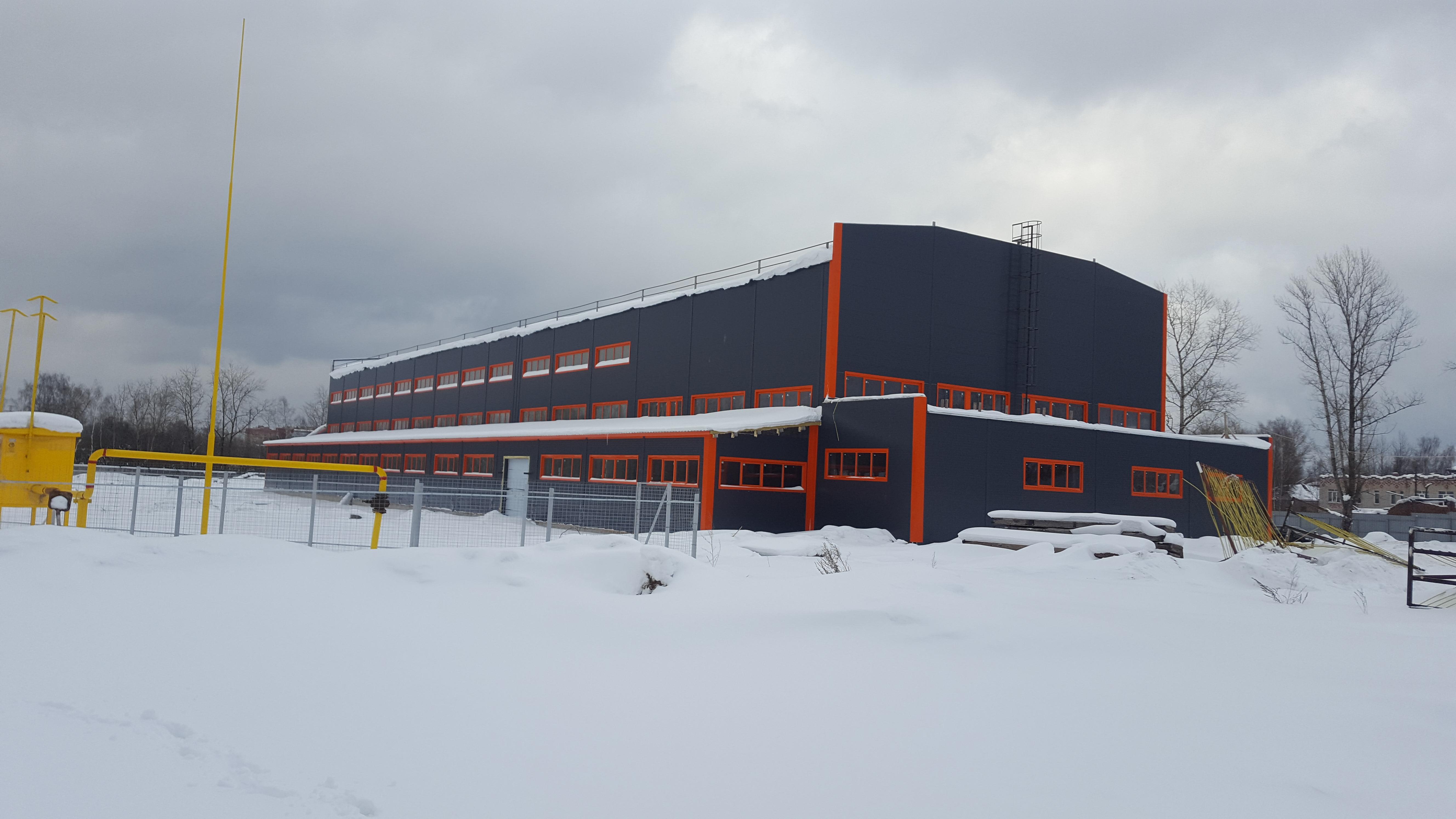 Реконструкция промышленного здания в Сергиевом Посаде